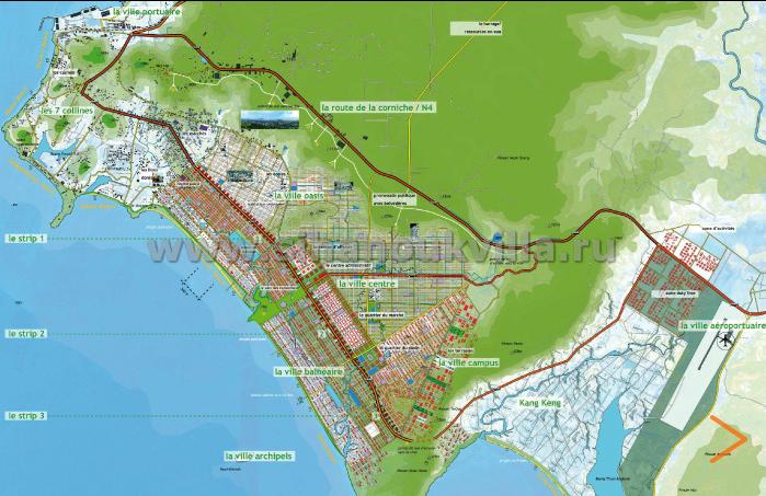 Генеральный план развития сиануквиля