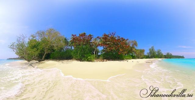 Остров в Камбодже Кох Танг (Koh Tang)