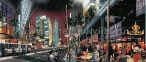 Если следовать плану, то Сиануквиль в будущем будет выглядеть так