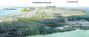 План застройки пляжа Отрес