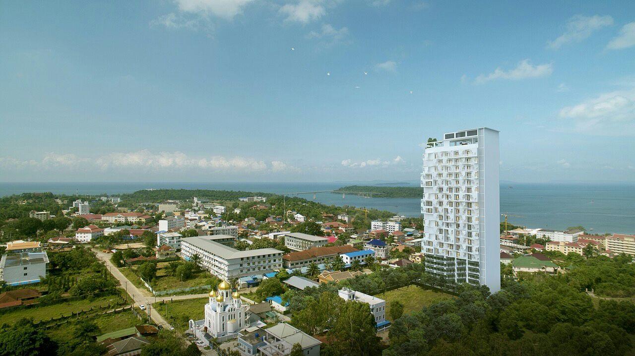 Проект кондоминиума возле моря в Камбодже